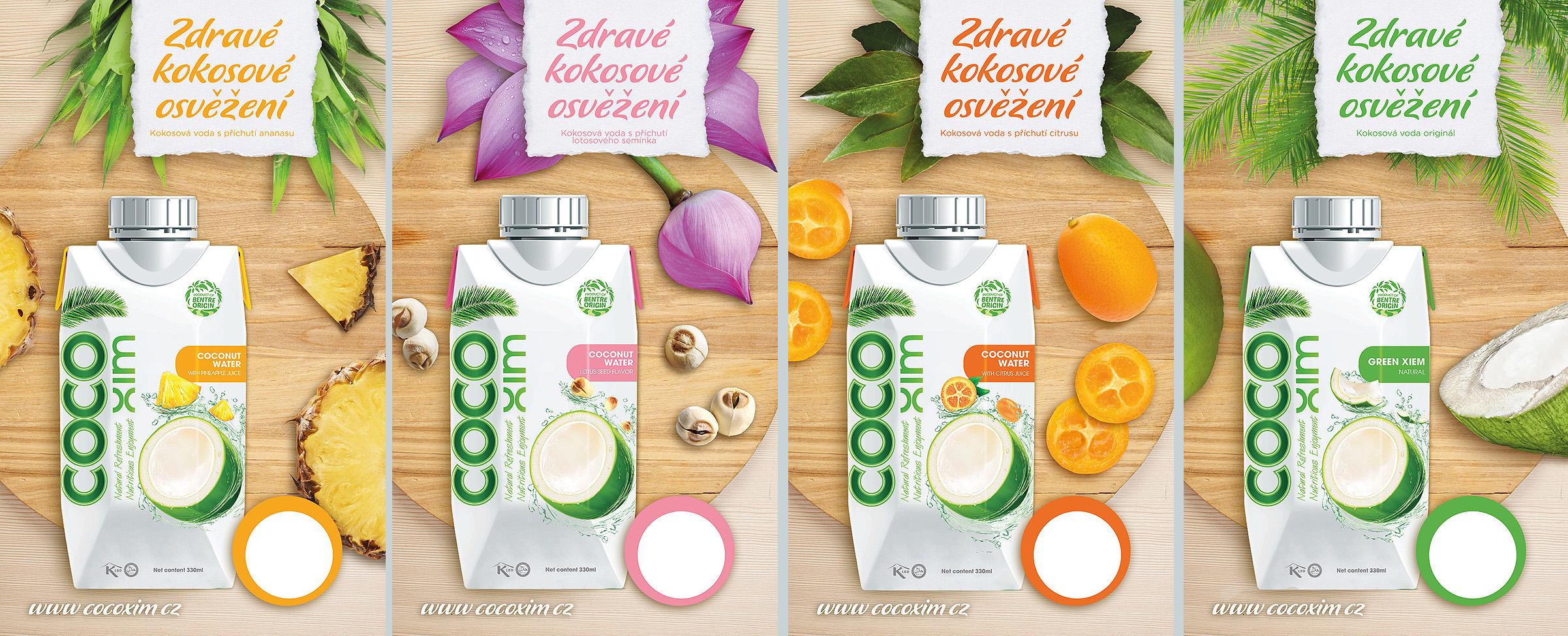 Kokosová voda CocoXim-0
