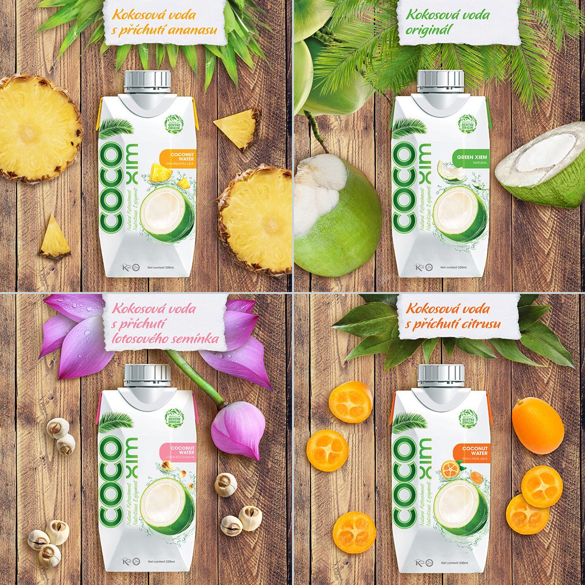 Kokosová voda CocoXim-2